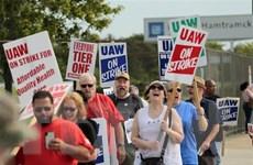 Ngành chế tạo ôtô Mỹ 'điêu đứng' vì công nhân đình công