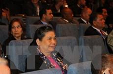 Phó Chủ tịch Quốc hội tiếp xúc song phương với người đồng cấp Lào