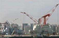 Trung Quốc gia tăng năng lực chế tạo các tàu quân sự cỡ lớn