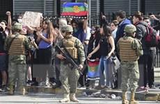 Chile gia hạn lệnh giới nghiêm đêm thứ hai liên tiếp