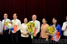 Công bố quyết định chuẩn y 3 Ủy viên Ban Thường vụ Thành ủy TP.HCM