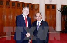 Thủ tướng tiếp Đoàn Ủy ban Thương mại quốc tế Nghị viện châu Âu