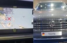 Sớm xử lý nghiêm vụ xe Volkswagen sử dụng bản đồ đường lưỡi bò