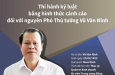 Quá trình xem xét, thi hành kỷ luật nguyên Phó Thủ tướng Vũ Văn Ninh