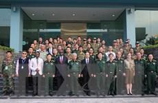 Khai mạc khóa huấn luyện vận hành trang bị công binh hạng nặng