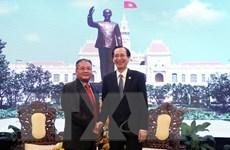 Lãnh đạo TP.HCM tiếp Đặc phái viên Chính phủ Hoàng gia Campuchia
