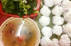 [Video] Bún ốc nguội - món ăn độc đáo của đất Hà Thành