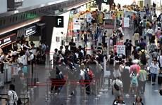 Khách hàng lao đao khi sân bay Nhật Bản gặp sự cố về nước
