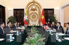 Tham khảo chính trị cấp Thứ trưởng Ngoại giao Việt Nam-Myanmar