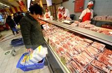 Giá thịt lợn tại Trung Quốc sẽ giảm trong năm tới nhờ tăng nguồn cung