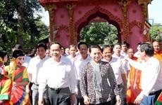 Trà Vinh: Chủ tịch Quốc hội dự Ngày hội Đại đoàn kết tại ấp Sóc Chà B