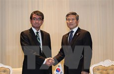 Mỹ hối thúc Nhật-Hàn thu hẹp bất đồng để duy trì GSOMIA
