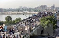 Iraq: Người biểu tình kiểm soát cây cầu thứ ba tại Baghdad
