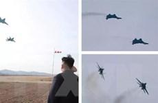 Nhà lãnh đạo Triều Tiên tiếp tục thị sát tập trận không quân
