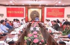 Đoàn Ban Chỉ đạo TW về phòng, chống tham nhũng làm việc tại Thanh Hóa