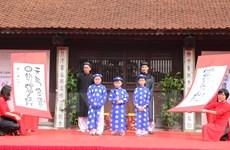 Hà Nội: Triển lãm thư pháp 'Truyền kinh chính học' tôn vinh tri thức