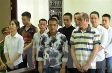 Tuyên án 10 bị cáo buôn bán ma túy từ Campuchia về Việt Nam