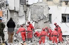 Lãnh đạo Việt Nam gửi điện thăm hỏi Albania sau trận động đất lịch sử