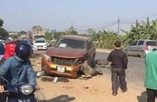 Hà Nội: Range Rover gây tai nạn liên hoàn khiến 2 người bị thương