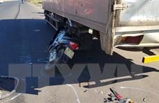 Bình Phước: Xe máy gây tai nạn liên hoàn, một người tử vong