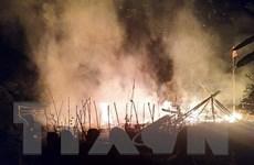 Hỏa hoạn thiêu rụi 2 nhà sàn gỗ và 1 căn bungalow tại Sa Pa