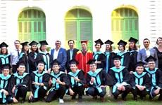 Chương trình Vatel trao bằng tốt nghiệp cho 48 sinh viên