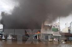 Bạc Liêu: Cháy lớn tại cửa hàng điện máy, thiệt hại hàng chục tỷ đồng