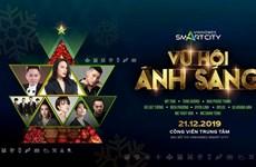 Dàn sao Việt 'bùng nổ' trong Vũ hội ánh sáng tại Vinhomes Smart City