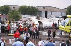 Rơi máy bay tư nhân tại Venezuela làm 9 người thiệt mạng