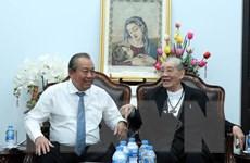 Phó Thủ tướng Trương Hòa Bình chúc Giáng sinh tại TP.HCM, Đồng Nai