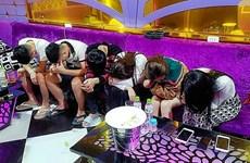 Quảng Nam: Hàng chục đối tượng dùng ma túy tại karaoke Luxury