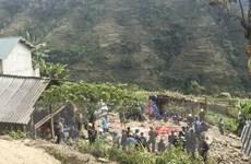 Hà Giang: Thăm hỏi, hỗ trợ gia đình các nạn nhân trong vụ sập tường