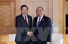 Thủ tướng Lào dự Kỳ họp Ủy ban liên Chính phủ Việt-Lào tại Hà Nội