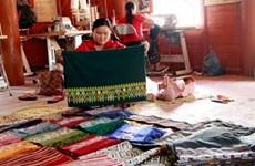 Nghề dệt thổ cẩm của người dân tộc Lào ở Điện Biên