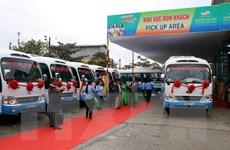 Khai trương tuyến xe buýt liên tỉnh liền kề từ Huế đi Đà Nẵng