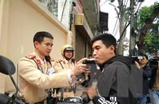 Hà Nội: Nhiều trường hợp vi phạm nồng độ cồn bị xử lý nghiêm
