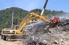 Điện thăm hỏi về sự cố sập công trình xây dựng tại Campuchia