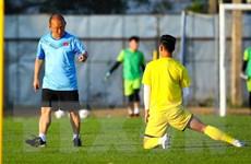 Đội tuyển U23 Việt Nam có buổi tập đầu tiên tại Buriram