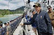 Tổng thống Joko Widodo thăm quần đảo Natuna nhằm nhấn mạnh chủ quyền