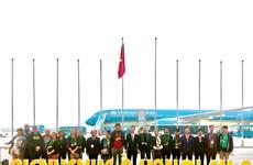 Hà Nội đón vị khách quốc tế xông đất đầu tiên của năm 2020
