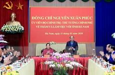 Hà Nam cần tiếp tục phát huy lợi thế cửa ngõ Thủ đô Hà Nội