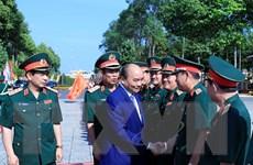 Thủ tướng kiểm tra công tác sẵn sàng chiến đấu tại Quân khu 9