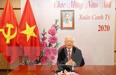 Lãnh đạo hai nước Việt Nam-Trung Quốc tiến hành điện đàm