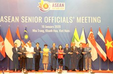 Họp chuẩn bị cho Hội nghị hẹp Bộ trưởng Ngoại giao ASEAN