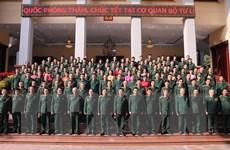 Bộ trưởng Quốc phòng chúc Tết cơ quan Bộ Tư lệnh Bộ đội Biên phòng