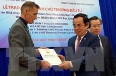 Singapore đầu tư Nhà máy điện khí tự nhiên hóa lỏng Bạc Liêu