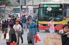[Photo] Hàng ngàn người dân bắt đầu rời Hà Nội về quê ăn tết
