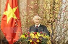 Bài phát biểu chúc Tết của Tổng Bí thư, Chủ tịch nước Nguyễn Phú Trọng