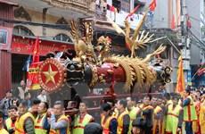 [Photo] Tưng bừng lễ hội rước pháo Đồng Kỵ tại Bắc Ninh