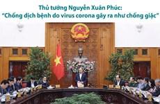 Thủ tướng: 'Chống dịch bệnh do virus corona gây ra như chống giặc'